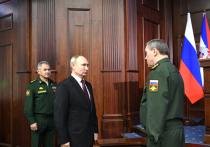Президент Владимир Путин оценил итоги работы военного ведомства в непростом 2020 году