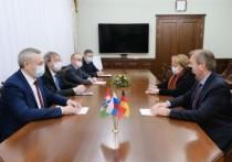 Новый генеральный консул ФРГ в Новосибирске познакомился с губернатором
