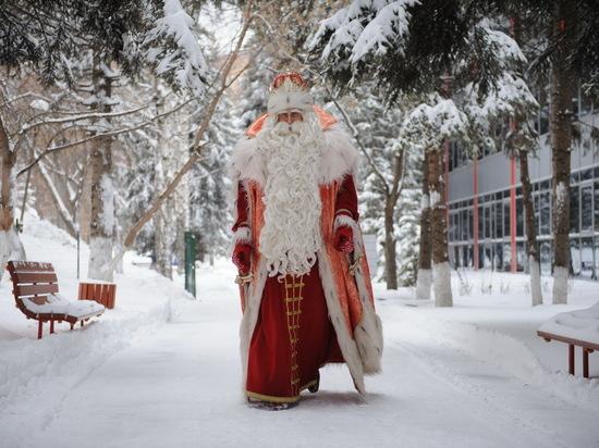Путешествующий с НТВ Дед Мороз заглянул и в Бурятию