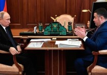 Тверской губернатор Игорь Руденя стал одним из немногих региональных руководителей, с кем в последнее время лично встречался президент России