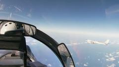 Россия и Китай провели совместные полеты: кадры из бомбардировщиков