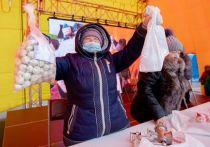Гастрономический фестиваль пельменей в пятый раз прошел в Южно-Сахалинске