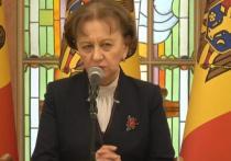 Зинаида Гречаный объявила об отмене заседания парламента Молдовы