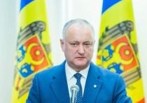Игорь Додон: Кабмин уходит в отставку не под давлением протестов