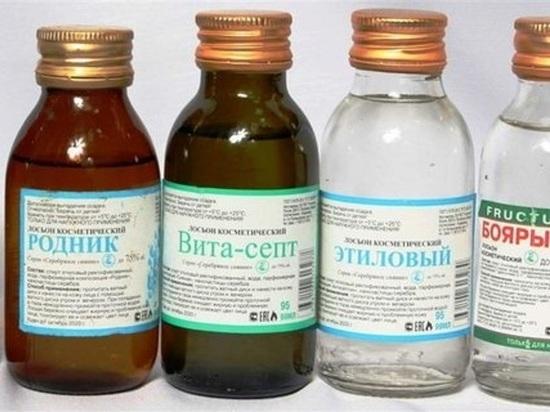 В Томской области сотрудниками полиции изъяты тысячи литров антисептика, который употребляли как алкоголь