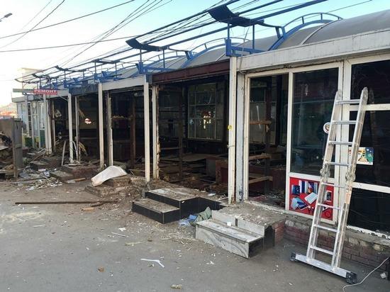 Незаконные объекты торговли снесли в Канавинском районе