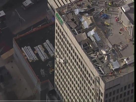 В офисном центре в США прогремел взрыв