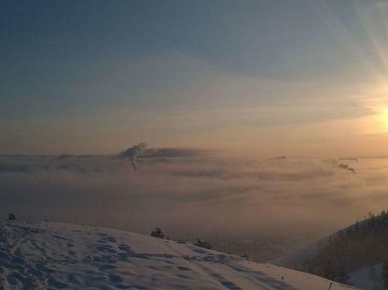 Завтра в Якутии ожидается слабый снег и туман