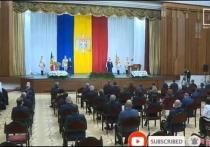 Свершилось! Новый президент Молдовы с первых минут изменила свой сайт