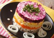 В Рязани посчитали стоимость салата сельдь «под шубой»
