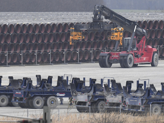 В Кремле опасаются серьезных помех при завершении строительства трубопровода
