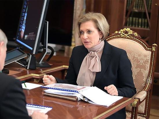 Попова: ношение масок защитило россиян от ряда инфекций