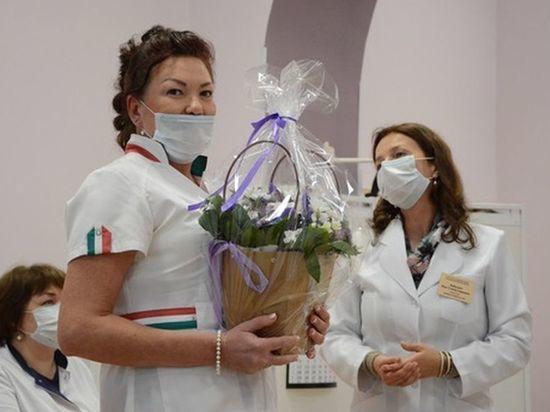 Лучшая медсестра Петербурга работает в стационаре Городского КВД