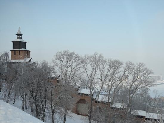 Снегопад ожидается в Нижнем Новгороде вечером 25 декабря