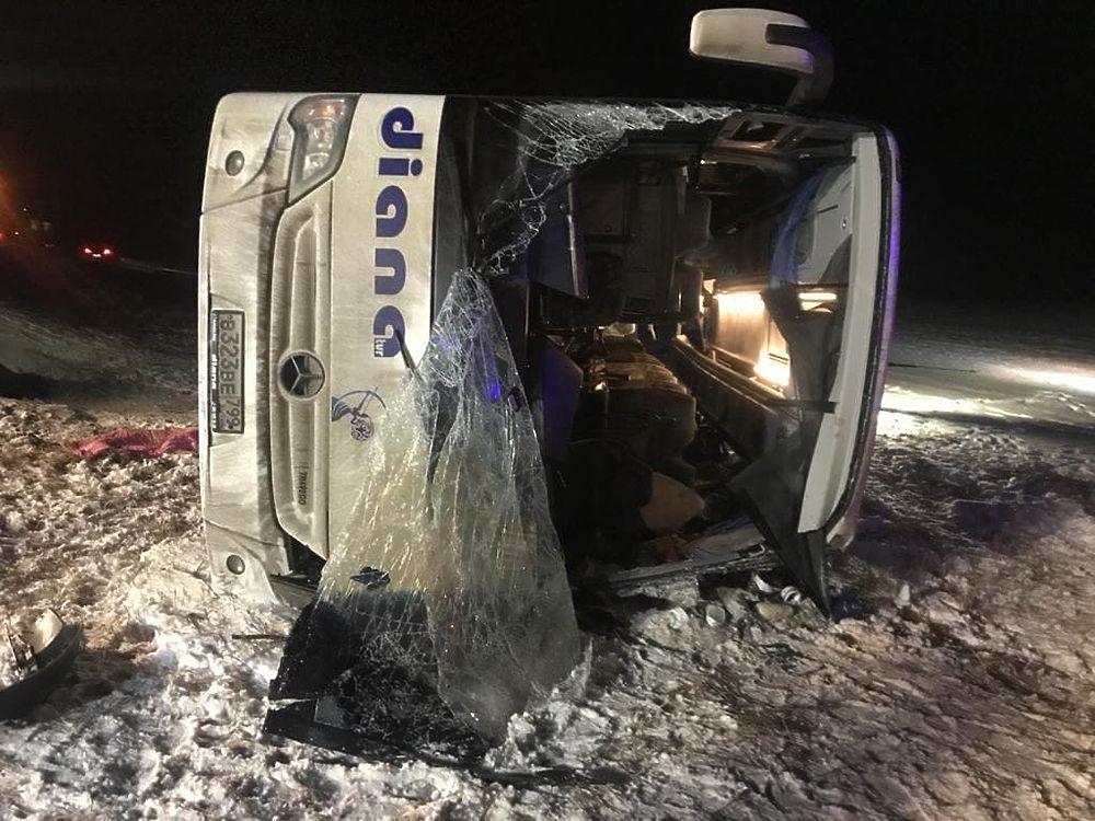 Смертельное ДТП с рейсовым автобусом в Рязанской области: страшные кадры