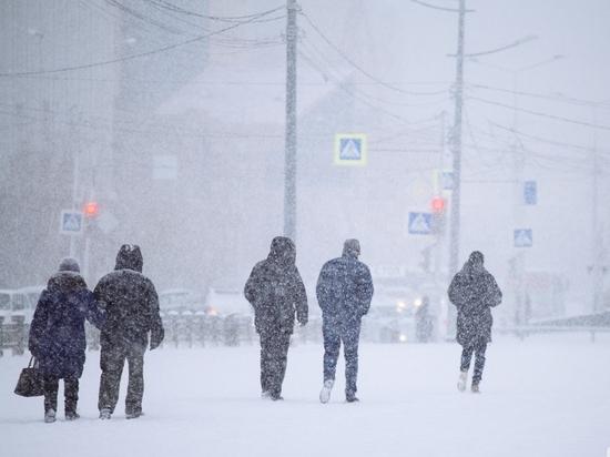 Завтра в Якутии прогнозируется местами слабый снег и туман