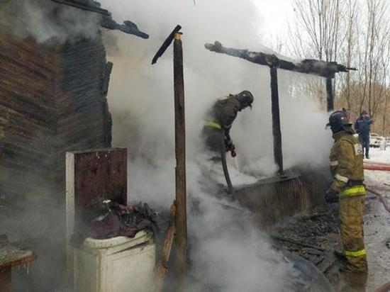 В Ростовской области при пожаре погибли две малышки