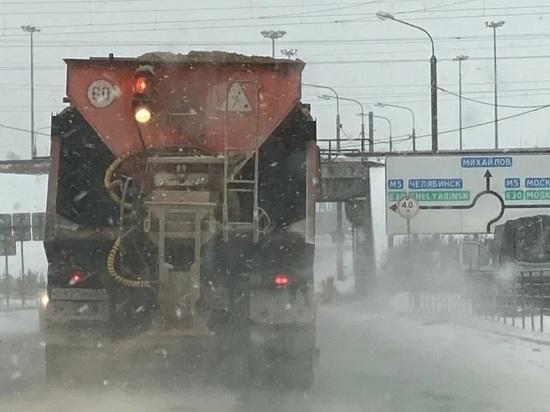 Рязанские дорожные службы переведены на круглосуточный режим работы