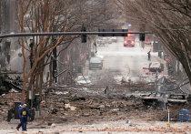 Сильный взрыв прогремел в «доме на колесах», припаркованном на пустынных улицах центра Нэшвилла (американский штат Теннесси) ранним рождественским утром