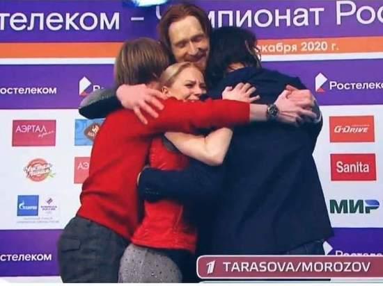 В Челябинске состоялись соревнования в парном катании на чемпионате России по фигурному катанию