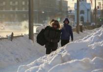 Сильные морозы держатся в Новосибирске еще несколько дней