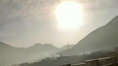 Падение метеорита в Китае сняли на видео: пугающие взрывы