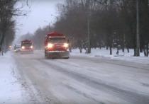 Во время снегопадов на улицы Йошкар-Олы вышла новая уборочная техника