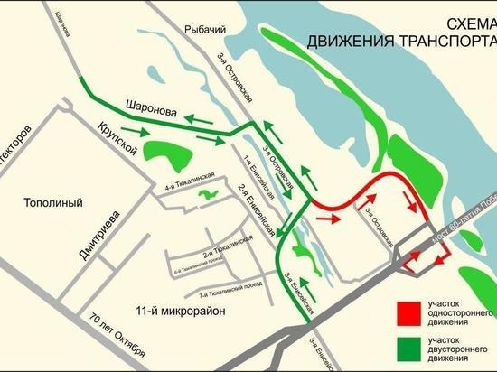 Бурков сообщил, что новая дорога на Левобережье будет расширена