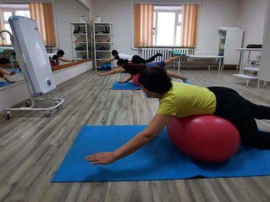 В больнице Якутии начались курсы реабилитации пациентов, перенёсших COVID-19