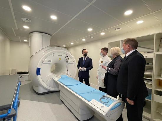 Глава Якутии принял участие в открытии объектов здравоохранения Нерюнгри
