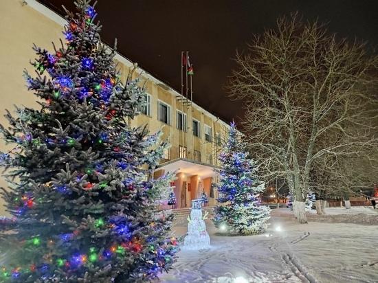 Как Тульская область подготовилась к новогодним праздникам: Новомосковск, Суворов, Каменский район
