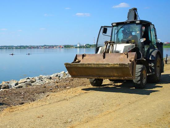 В Челябинске расторгнут контракт на строительство набережной