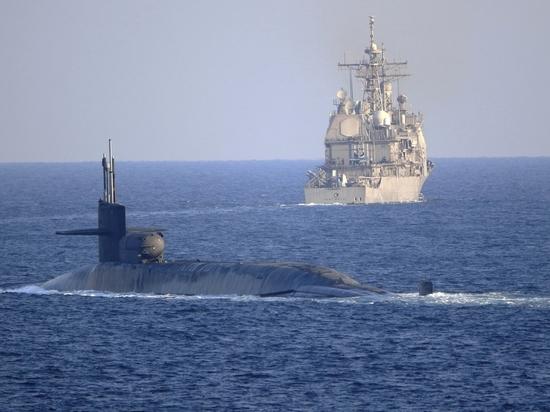 В Персидском заливе появились ракетные подводные лодки