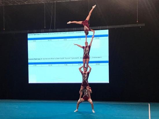 Кировские акробаты поднялись на пьедестал Кубка России