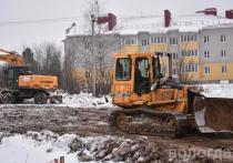 Благоустройство Рождественского парка в Вологде остановлено