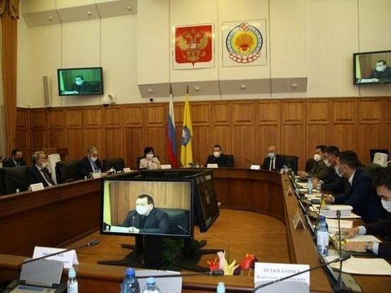 Калмыцкие парламентарии приняли обращение к хакасским коллегам