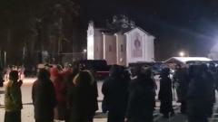 Схимонаха Сергия задержали с ОМОНом: видео штурма монастыря