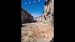 Кадры мощного землетрясения в Хорватии: все трясется, депутаты убегают