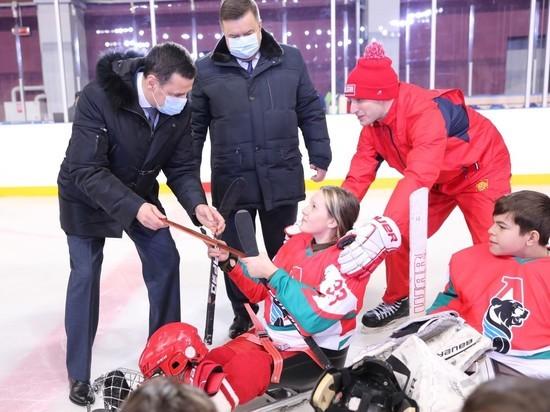 Медведь стал символомновой ярославской команды по следж-хоккею