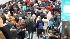 В московских аэропортах началось столпотворение