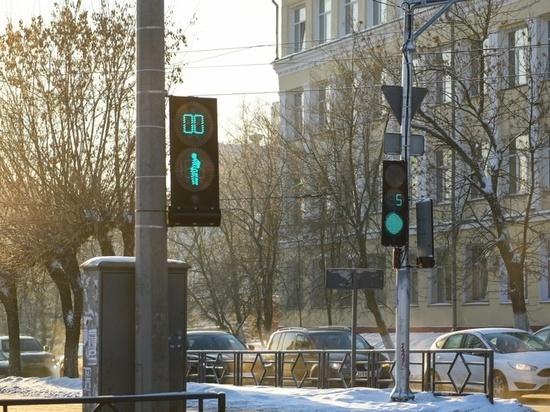 В Кирове заменили 5 старых светофоров