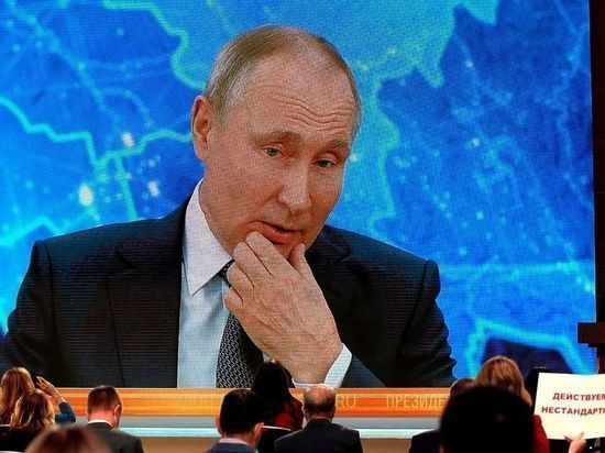 Путин поздравил глав МОК, ФИФА и УЕФА с наступающим Новым годом