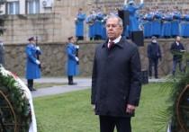 В Белграде потушили зажженный Лавровым Вечный огонь