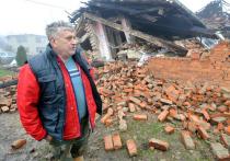 Последствия землетрясения в Хорватии сравнили с военным Грозным