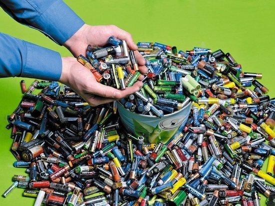 Уфимцы передали на переработку около трех тонн использованных батареек