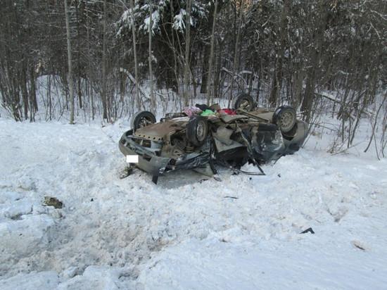 Двойная авария в Кировской области: пострадали 5 человек