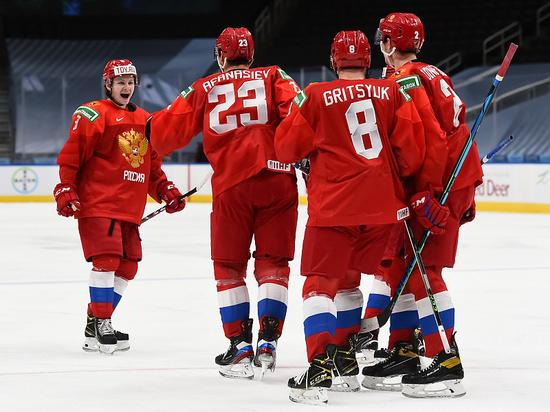 Экзамен по подготовке к плей-офф команда Ларионова сдала на четыре с минусом
