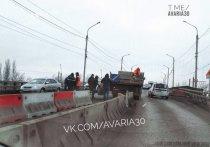 В Астрахани на мосту Царев в створе улицы Боевая восстановлено