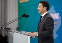 Народный депутат Украины Алексей Гончаренко высмеял президента страны Владимира Зеленского во время своего новогоднего поздравления