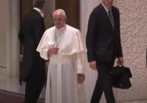 Из-за воспаления седалищного нерва Папа Римский пропустил новогоднюю службу